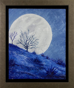 """Walking with the moon"""