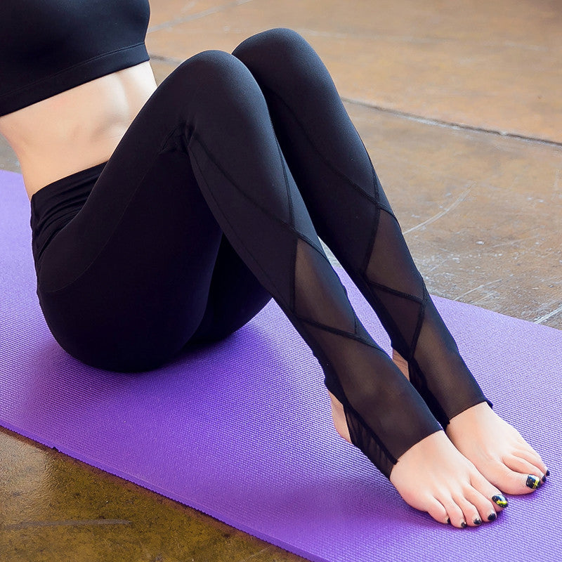 VIOLET MESH LEGGINGS