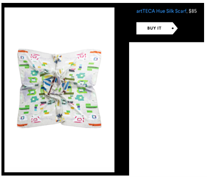 artTECA Silk Scarf in AOL Mother's Day Gifts
