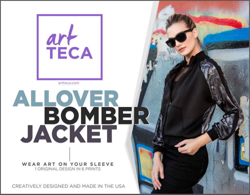 artTECA Look Book - Bomber Jacket Collection
