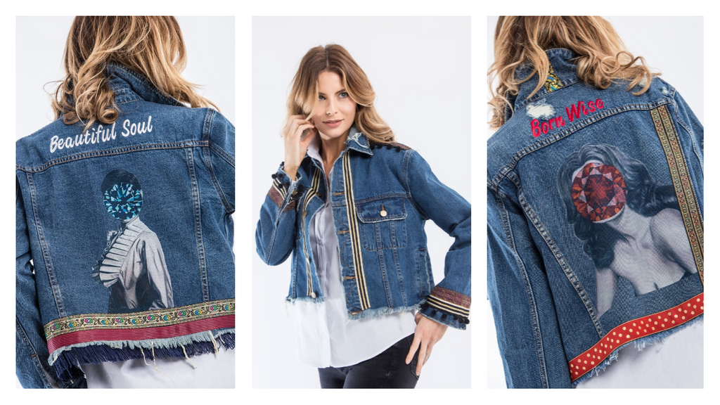 e05fec4f3c The artTECA Wearable Art collection recently released a limited edition  capsule collection of denim jackets with exclusive contemporary art and  statement ...