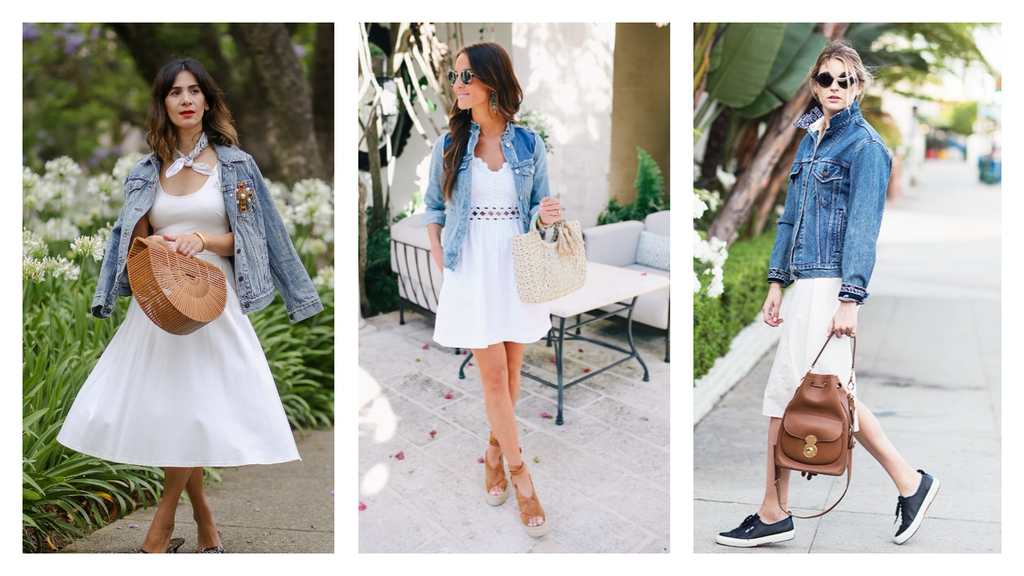 9665841891 How to Wear a Denim Jacket During Spring and Summer