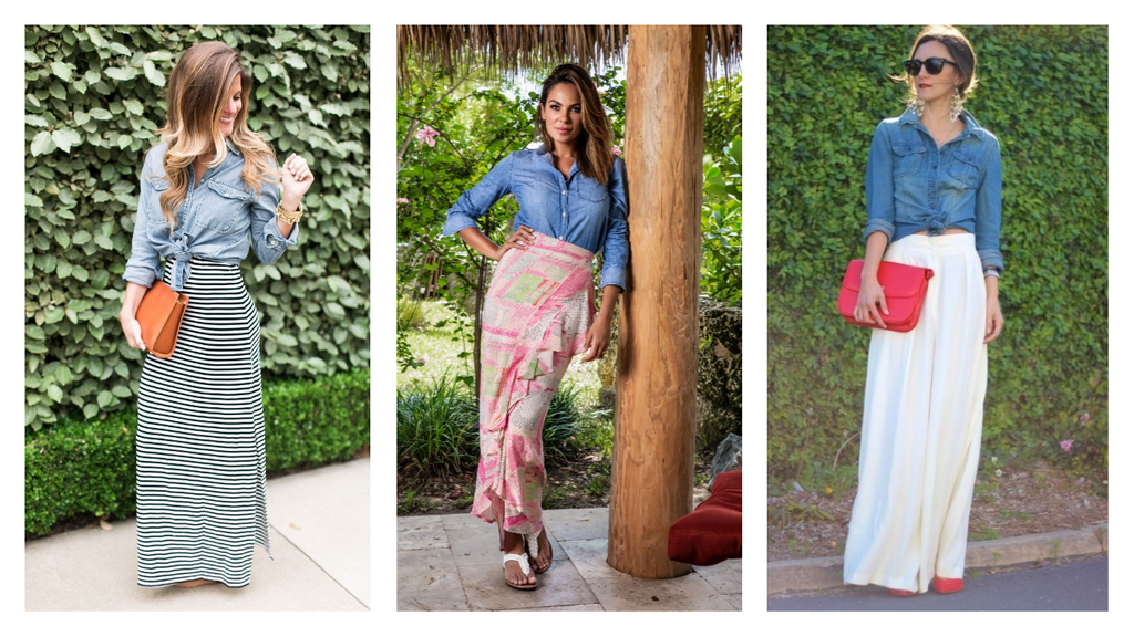 How to Style a Maxi Skirt in the Summer