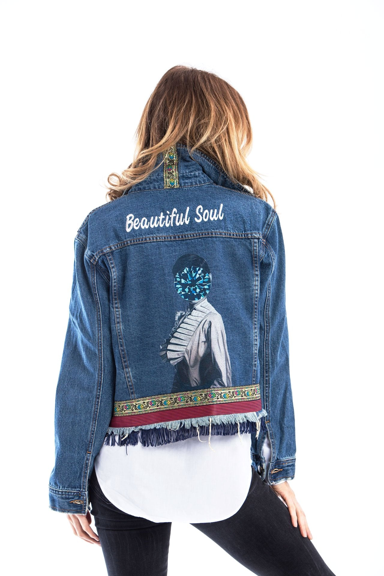 Beautiful Soul Denim Jacket Denim Jackets - artTECA