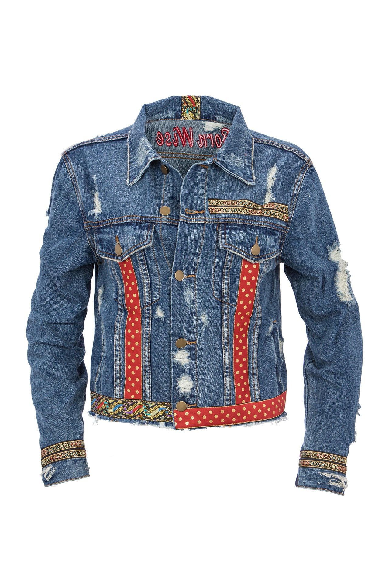 Born Wise Denim Jacket Denim Jackets - artTECA