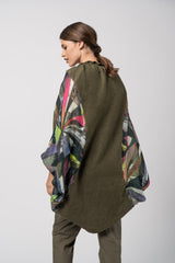 Figura Shawl - Color Eclipse Print Shawl - artTECA