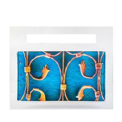 Golden Gates Clutch Bags - artTECA