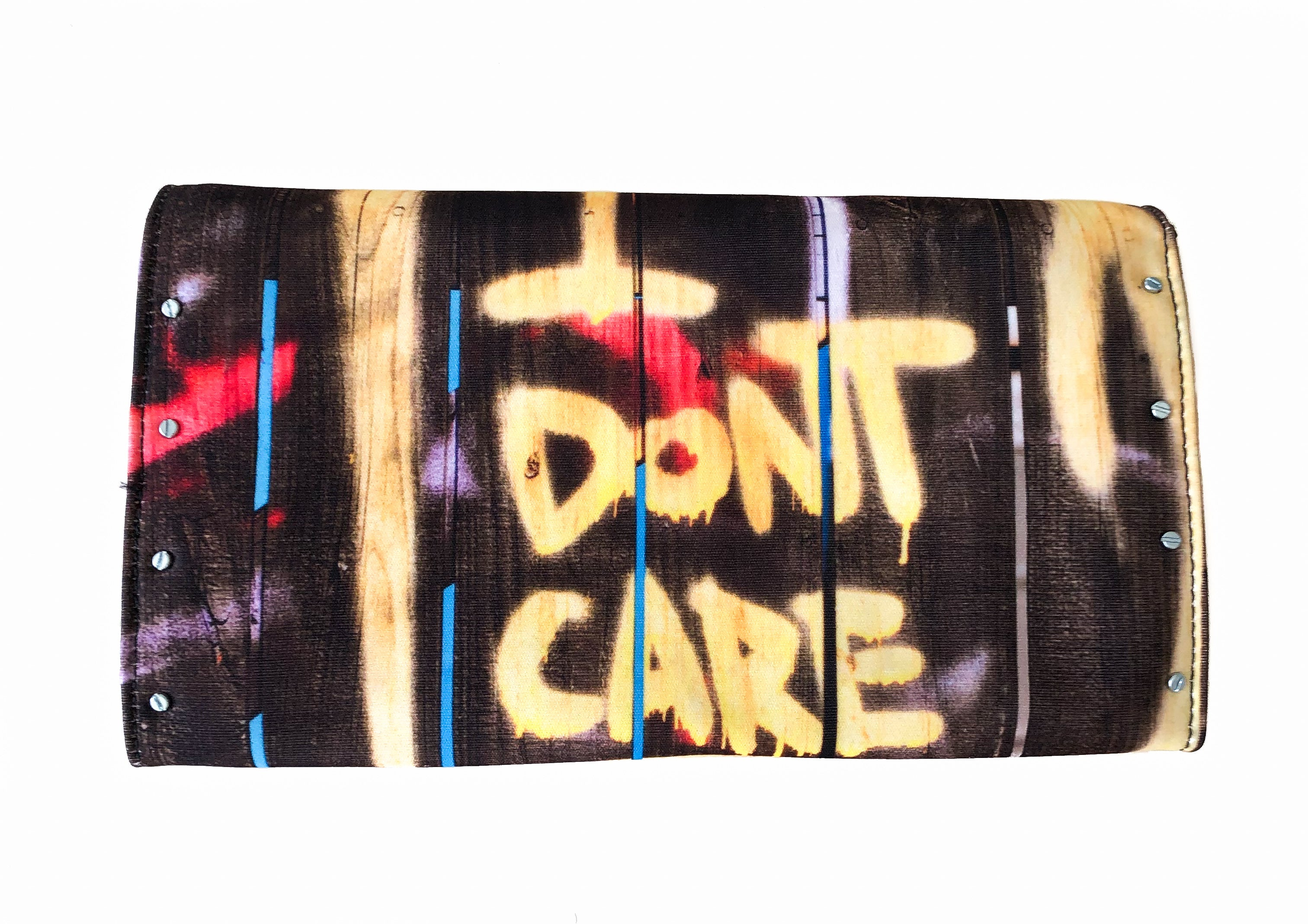 I Don't Care Clutch Original Bags - artTECA