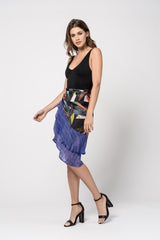 Mural Wrap Skirt - Color Eclipse Print Skirts - artTECA