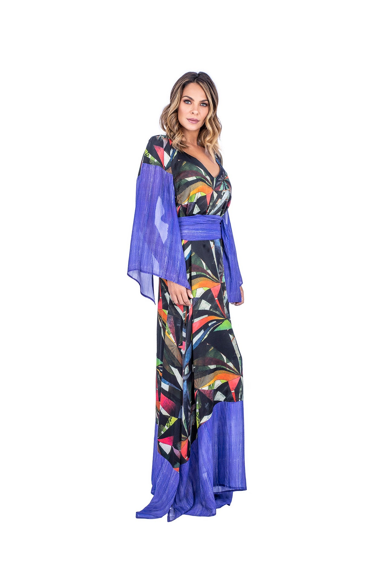 Pinta Kaftan - Color Eclipse Print  - artTECA