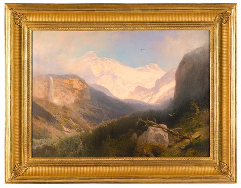 Hetch Hetchy in the High Sierras by Hermann Herzog