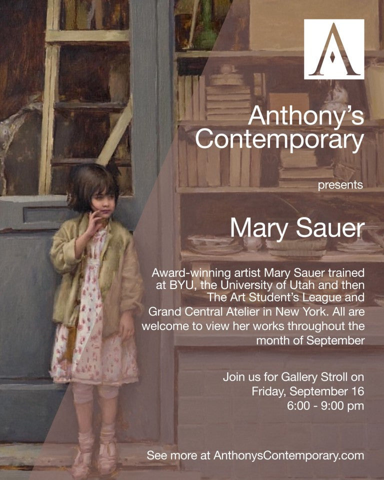 September Featured Artist: Mary Sauer