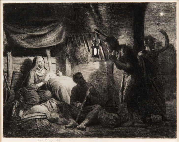 The Nativity by Carl Bloch
