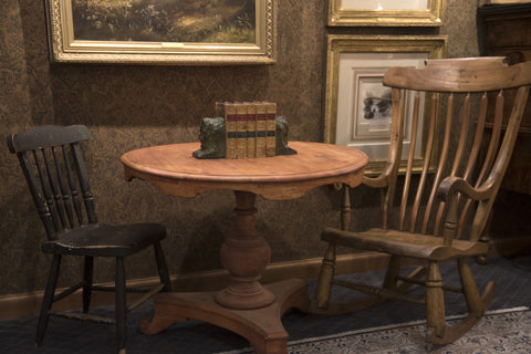 A Private Collection of Rare, Early Pioneer Furniture & Art Now on View
