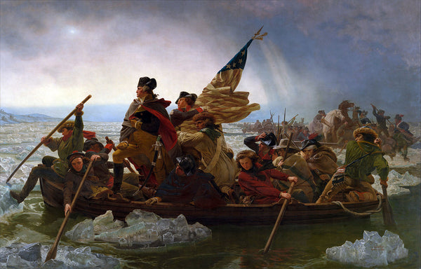 Emanuel Leutze (American, 1816-1868) Washington Crossing the Deleware (1851) Oil on canvas. 149 x 255 in. Metropolitan Museum of Art, New York