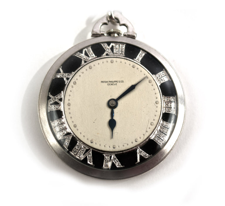 Patek Philippe & Co. Diamond Pocket Watch
