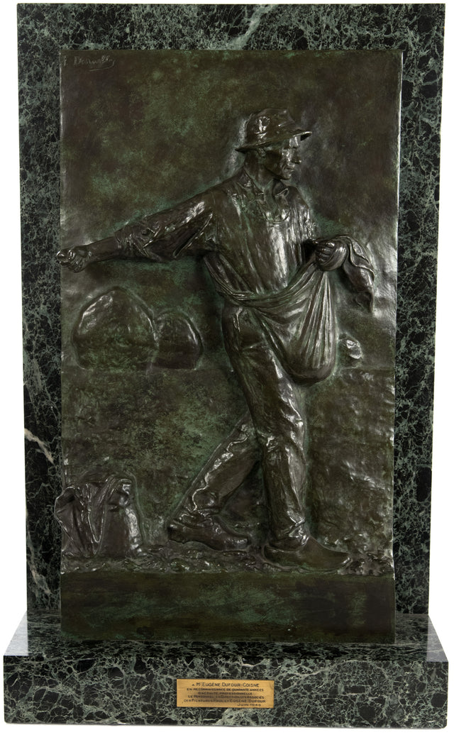 Le Semeur or The Sower (c. 1900) by Félix-Alexandre Desruelles