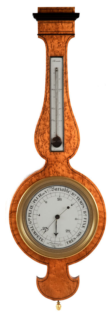 French Barometer by Lerebour of Paris (c. 1885)