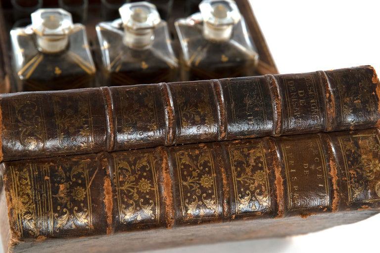 Cave à Liqueur Liquor Cabinet in the Form of a Stack of Books (c. 1870)