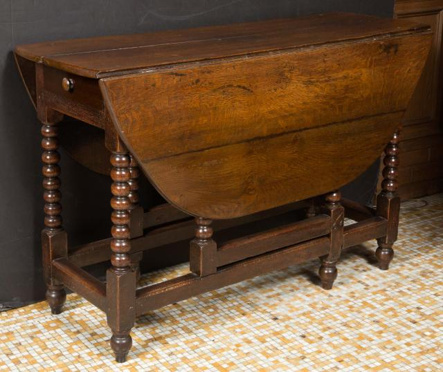 Eighteenth Century English Drop Leaf Table