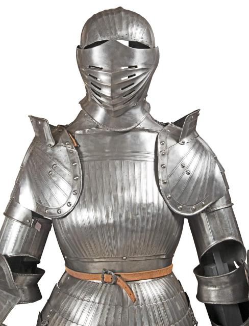 German Suit of Armor in the Maximilian Style