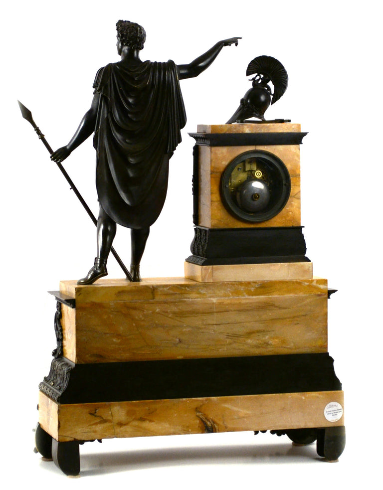 Monumental Louis-Philippe Mantle Clock