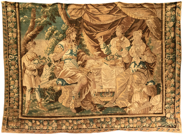 Seventeenth-Century Brussels Tapestry (c. 1630)
