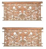 A Pair of Rococo-style Wrought Iron Gates