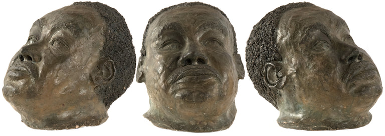 A bust of the boxer Joe Louis by Mahonri Young