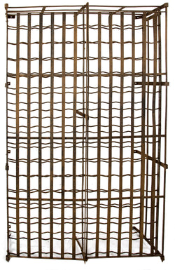 Wrought Iron French Wine Rack