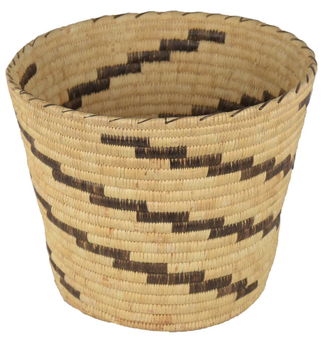 20th Century Hand Woven Native American Open Basket