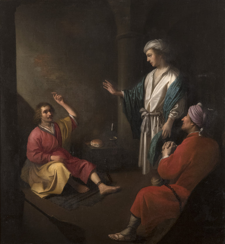 Joseph The Cupbearer And Baker In Prison