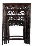 20th Century Chinese Hardwood Nesting Tables