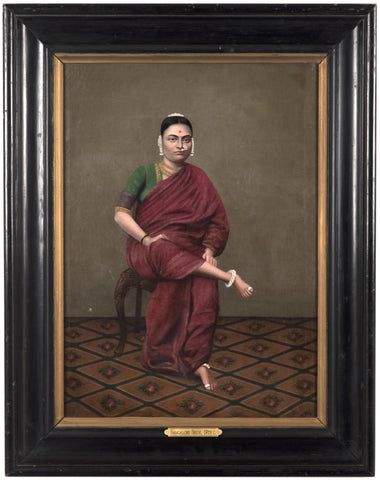 "19th Century Portrait titled ""Bangalore Bride"""