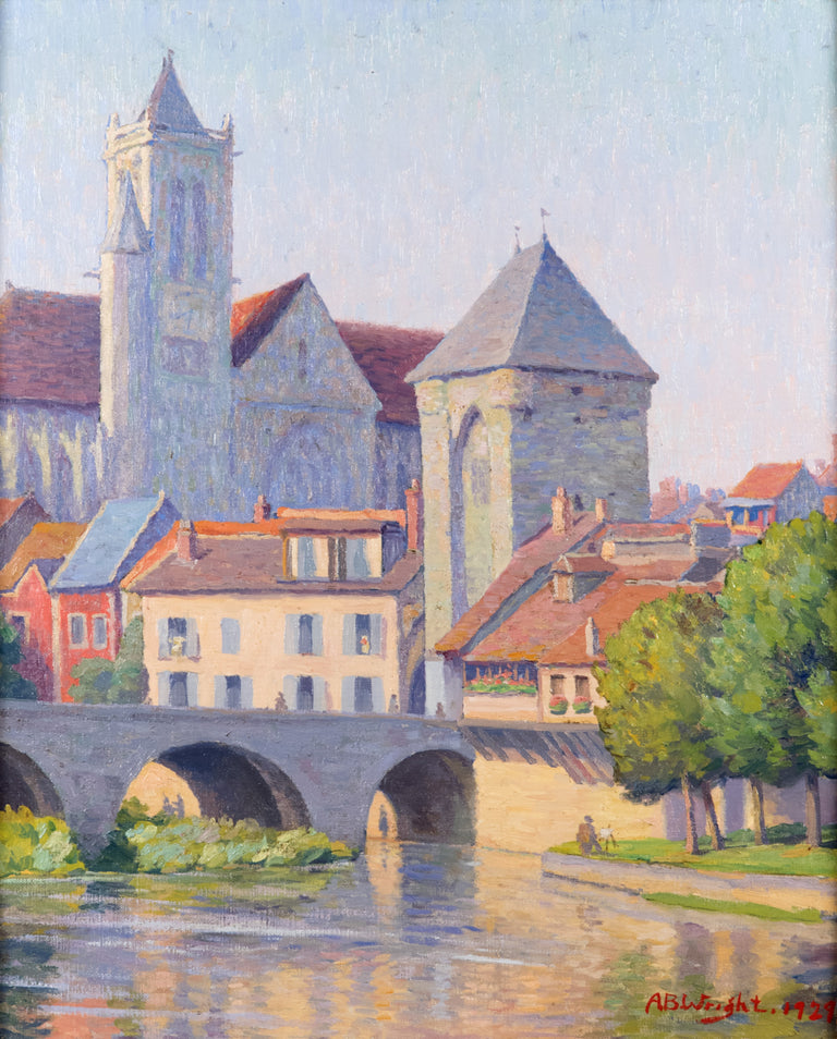 Moret-sur-Loing by A.B. Wright