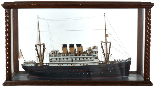Cased Wooden Model of the Neptune