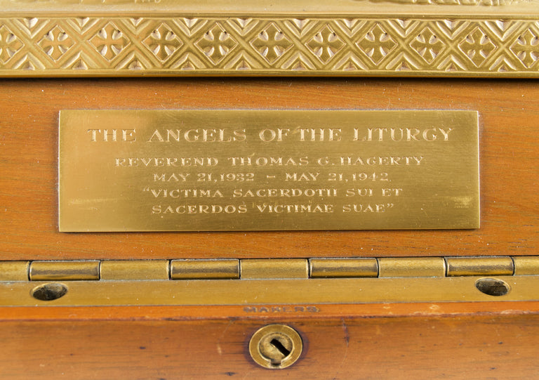 Tiffany Bas-Relief Sculpture of the Angels of the Liturgy