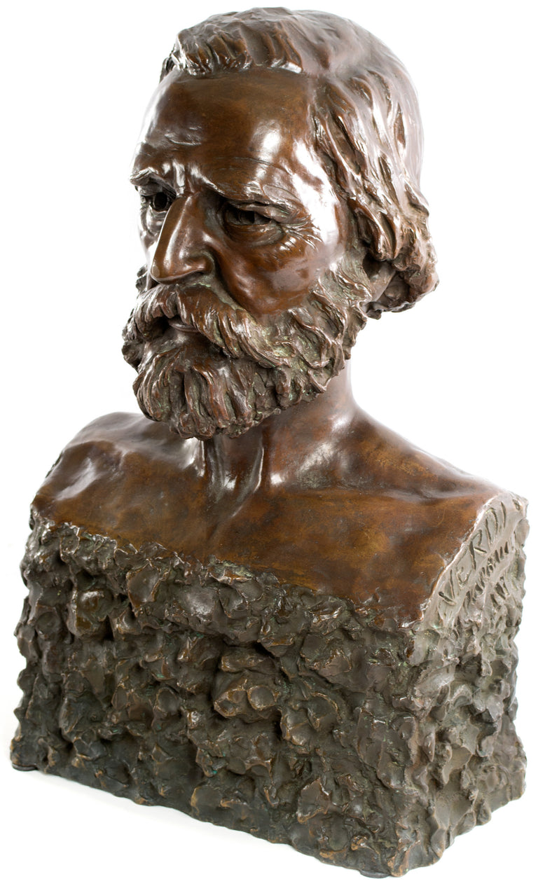 The Composer Giuseppe Verdi (1934) by Florence Malcolm Darnault