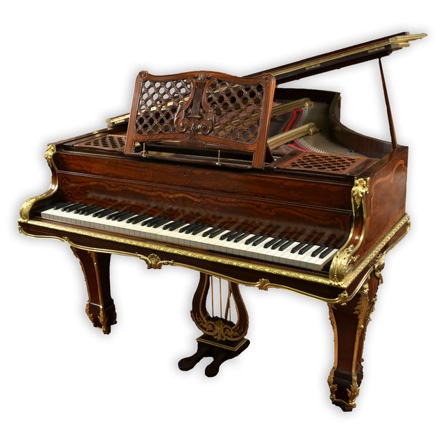 Louis XV Style Ormolu Piano Made By John Broadwood & Sons of London