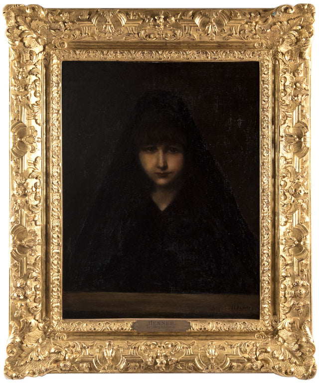 L'Orpheline (1886) by Jean-Jacques Henner