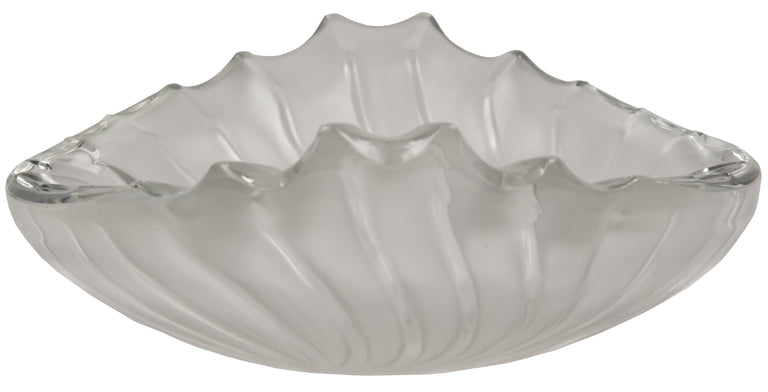 Lalique Art Deco Frosted Crystal Centrepiece Bowl
