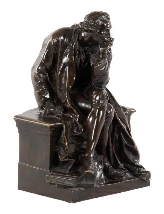 "Statue of Lavoisier or ""The Thinker"" (c. 1889) by Jules Dalou"