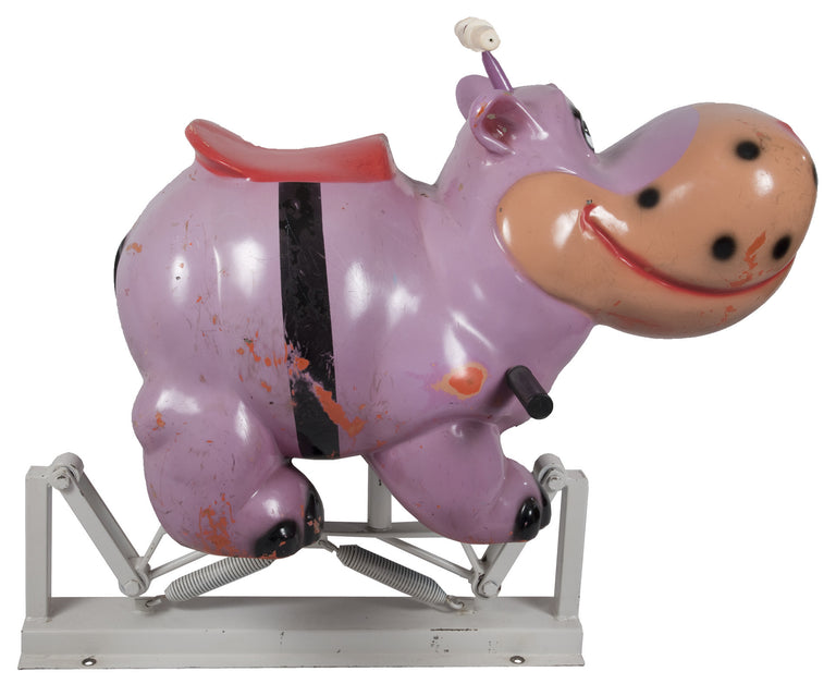 French Carousel Ride of Hippopotamus Form