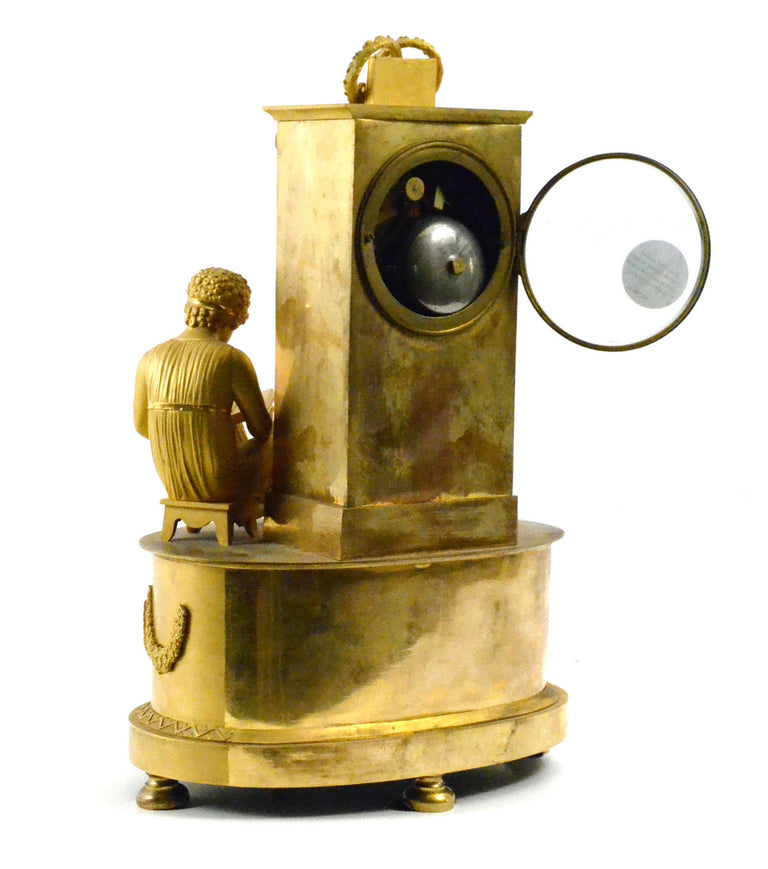 Ormolu Silk-Suspension Clock