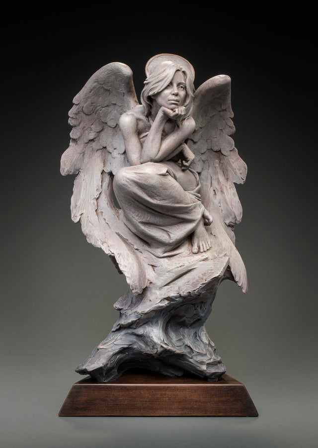 An Angel In Contemplation by Ben Hammond