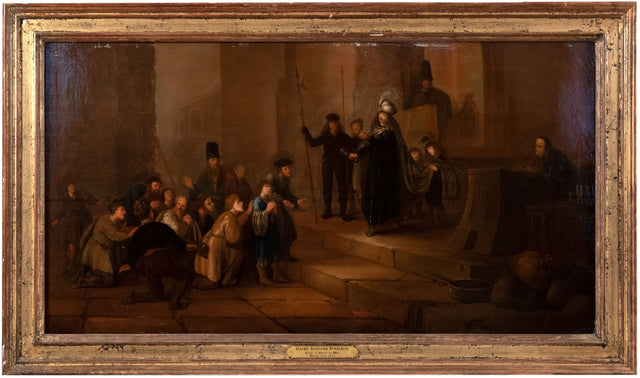 Joseph Accusing Benjamin (c. 1660) by Circle of Gerrit de Wet