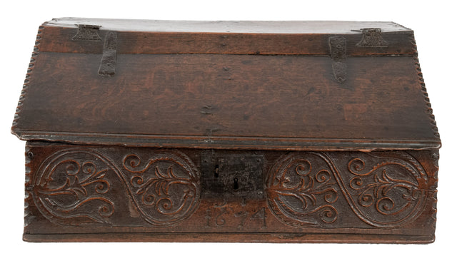 17th Century English Bible Box
