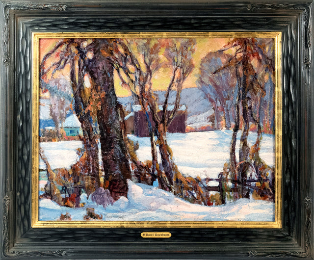 Winter Scene by D. Howeel Rosenbaum