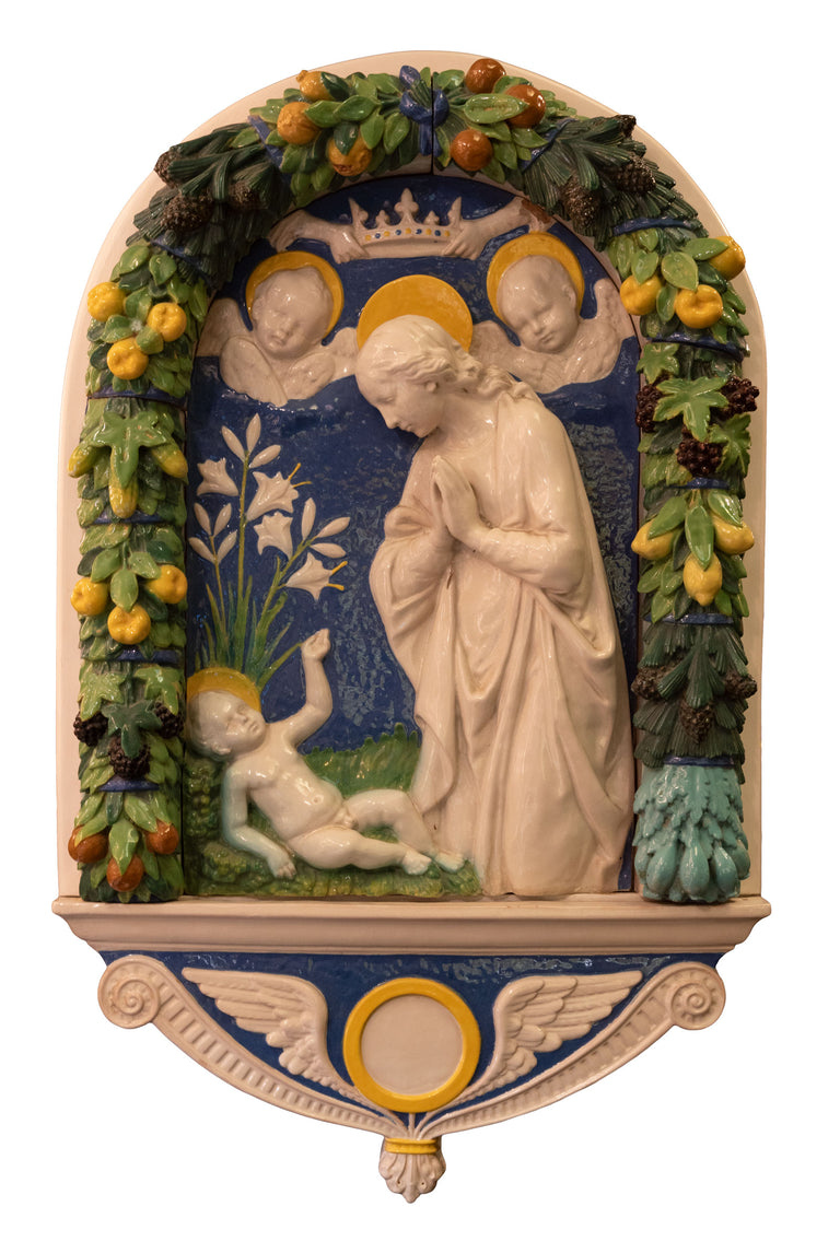 Adoration of the Christ Child (c. 1890) after Andrea della Robbia