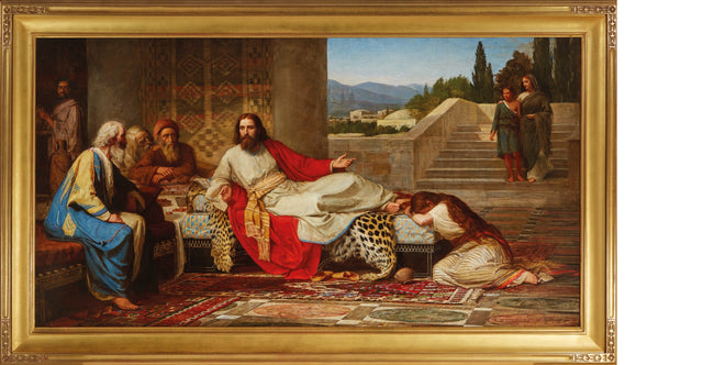 Edward Haynes (British, 19th Century) Christ in the House of Simon the Pharisee (1877)